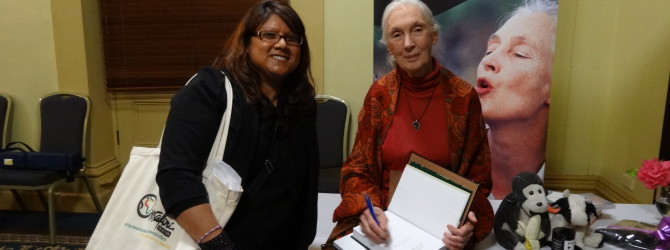 Jane Goodall visits Melbourne