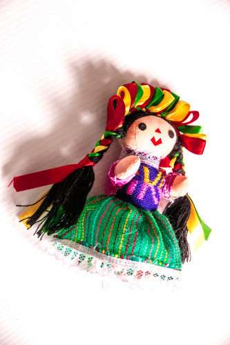 doll green red